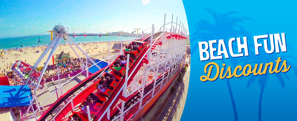 Beach Fun Boardwalk Discounts