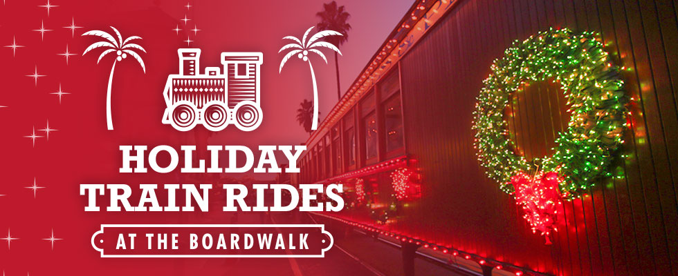 Holiday Train Rides Photo