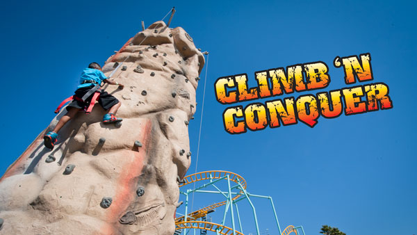 Climb N Conquer Climbing Wall
