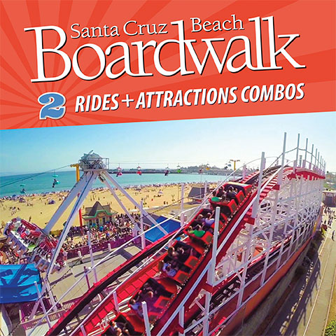 To view Santa Cruz Beach Boardwalk Tickets, Specials and Coupons, go to their special page by clicking here. Santa Cruz Beach Boardwalk updates this page throughout the year, so check back to see if new specials and coupons have come in. Note to our visitors: Santa Cruz Beach Boardwalk Specials and Coupons can change without notice. So please visit their official website to make sure of the latest .