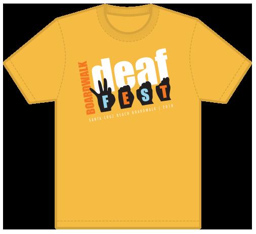 Deaf Fest Event T-Shirt