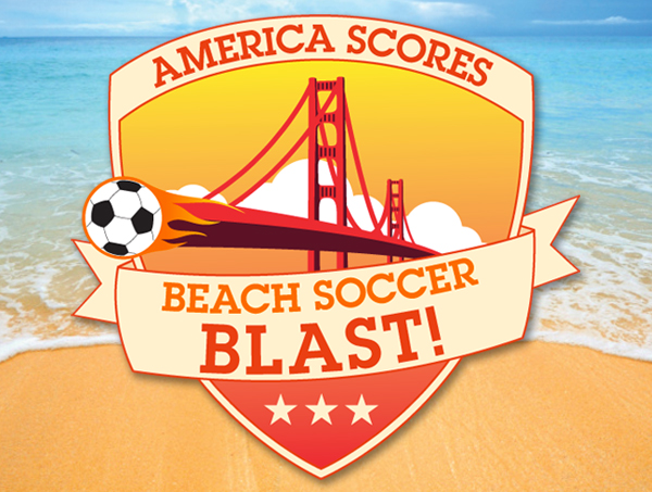 America Scores Beach Soccer