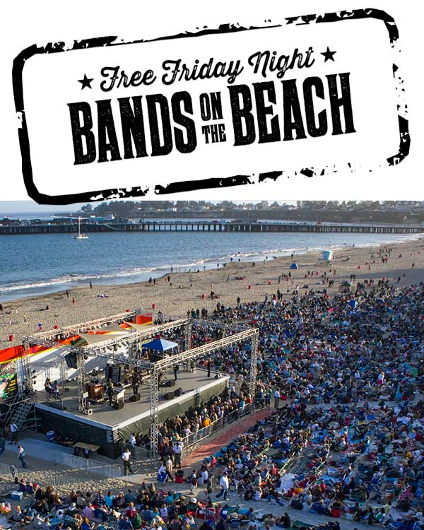 FREE Friday Night Bands on the Beach