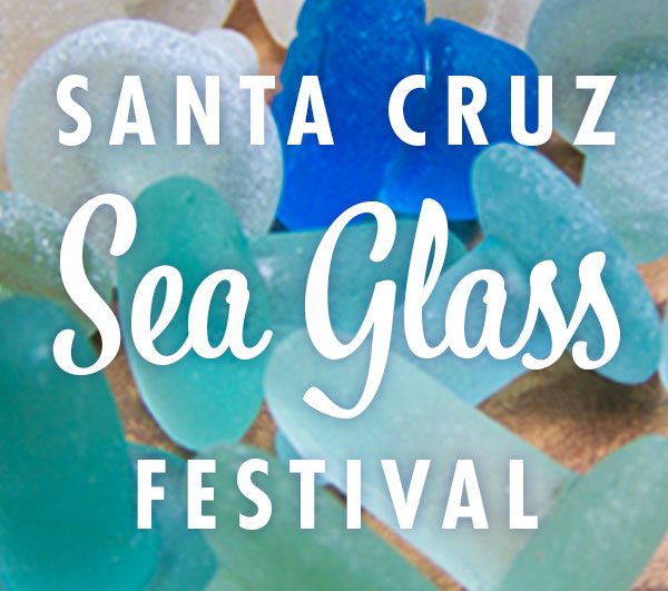 Santa Cruz Sea Glass and Ocean Art Image