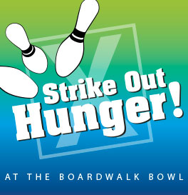 Strike Out Hunger and Bowl for FREE!