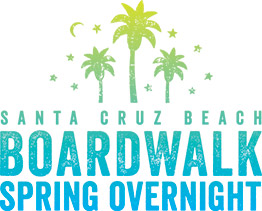 Santa Cruz Beach Boardwalk Spring Overnight