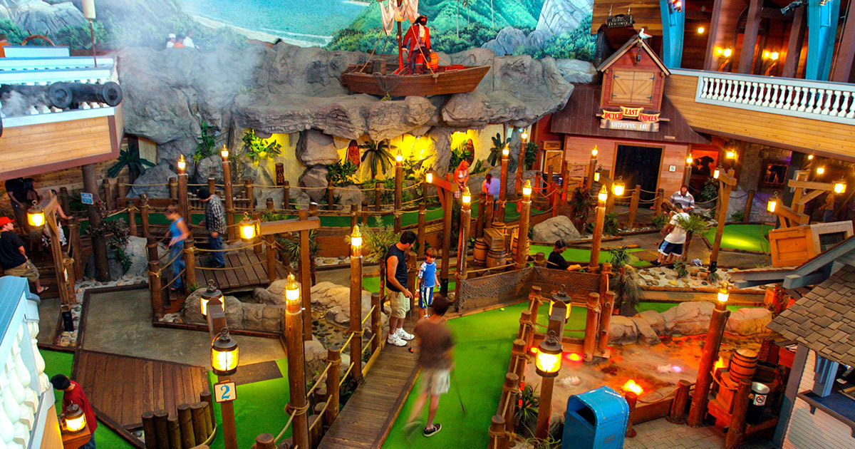 Boardwalk Mini Golf