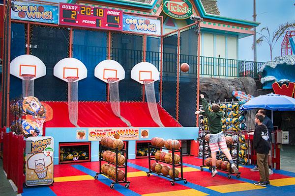 Long Shot Basketball Game