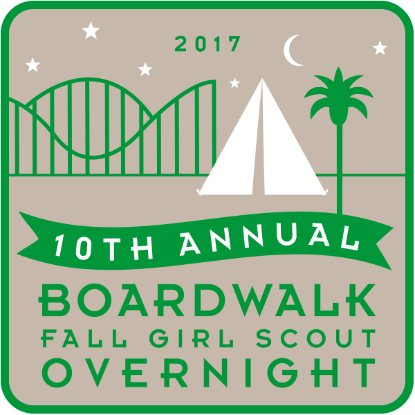 Girl Scout Overnight Fall 2017 Patch