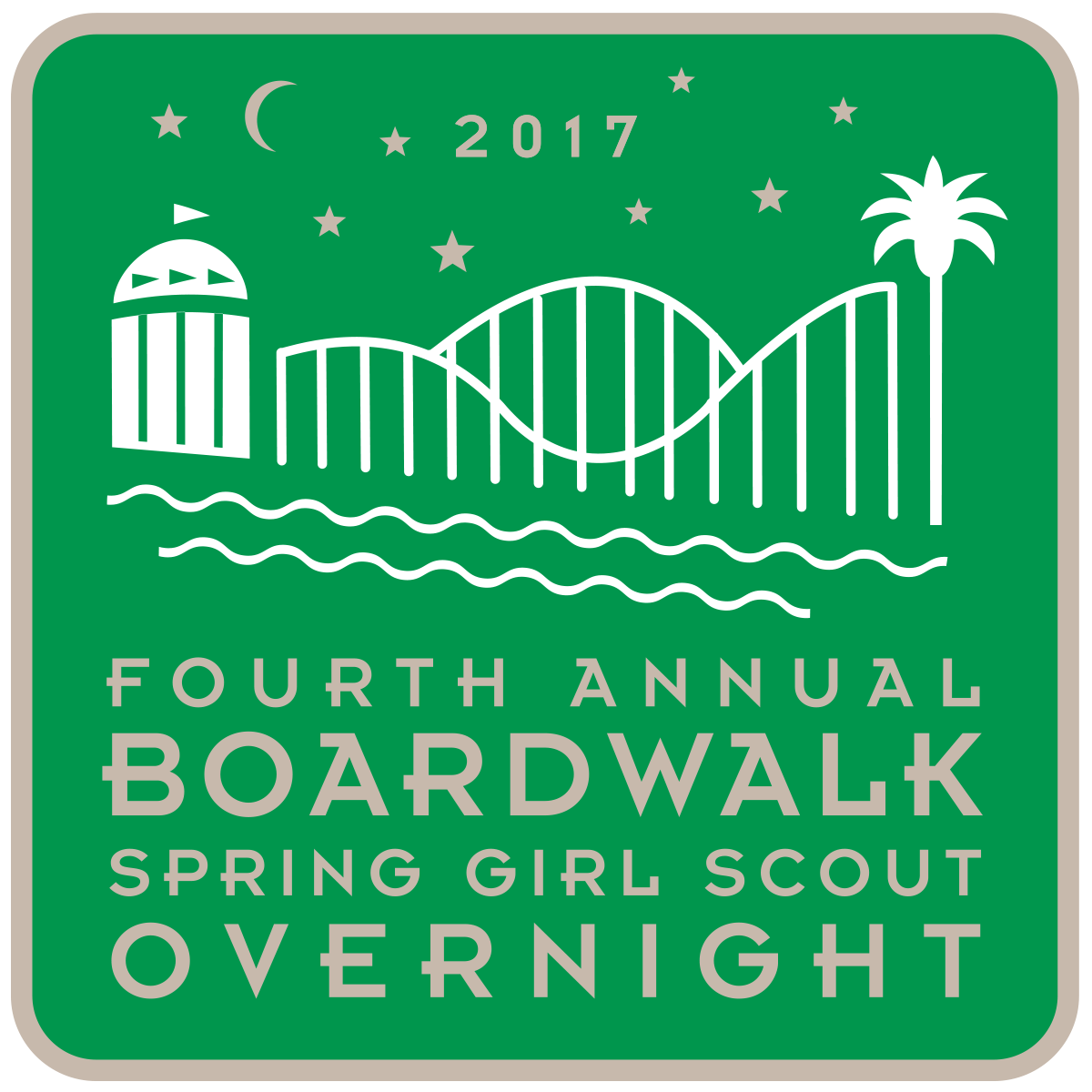 Girl Scout Overnight Patch