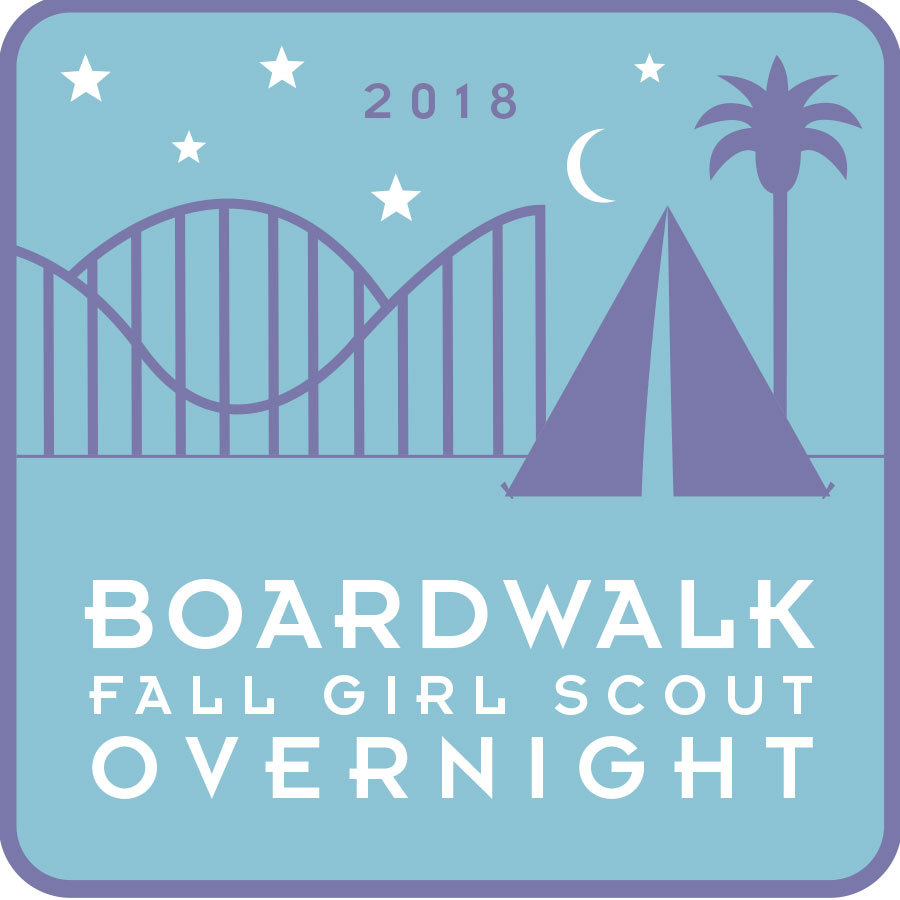 Girl Scout Overnight Fall Patch