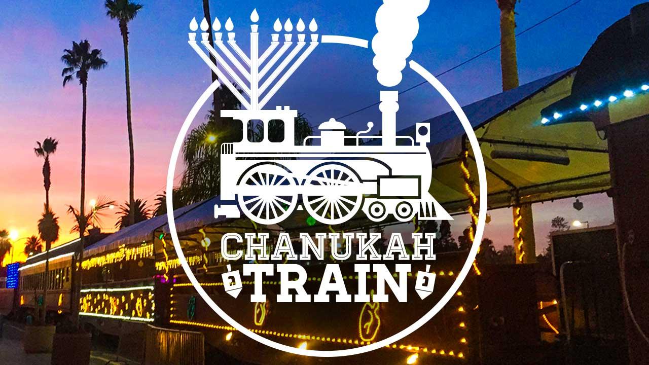 santa cruz chanukah train