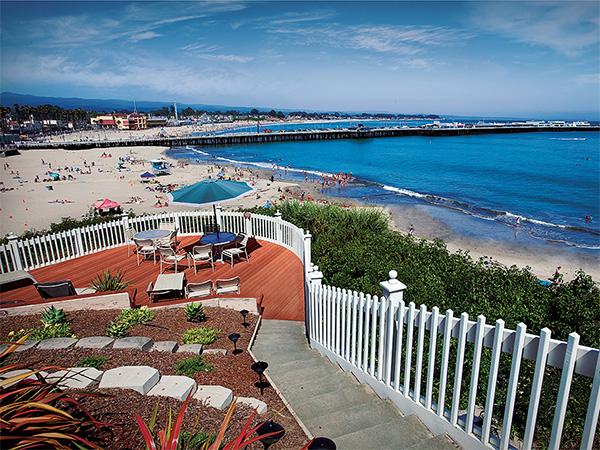 Sea and Sand Inn vista