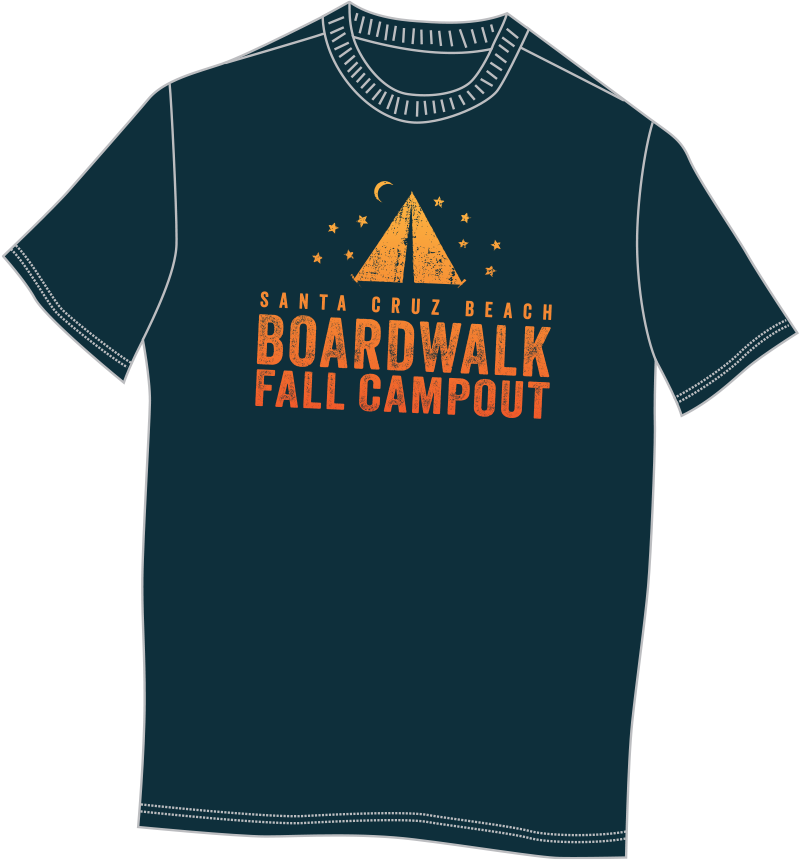 Boardwalk Overnight Event T-Shirt