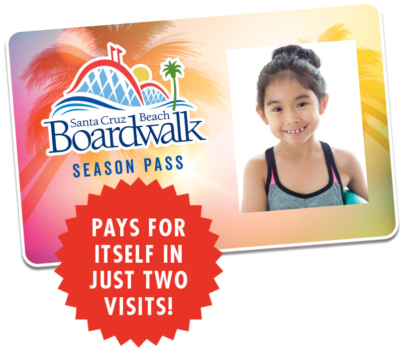 Boardwalk Season Pass Card