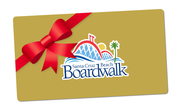 Boardwalk Season Pass Gift Certificate Envelope