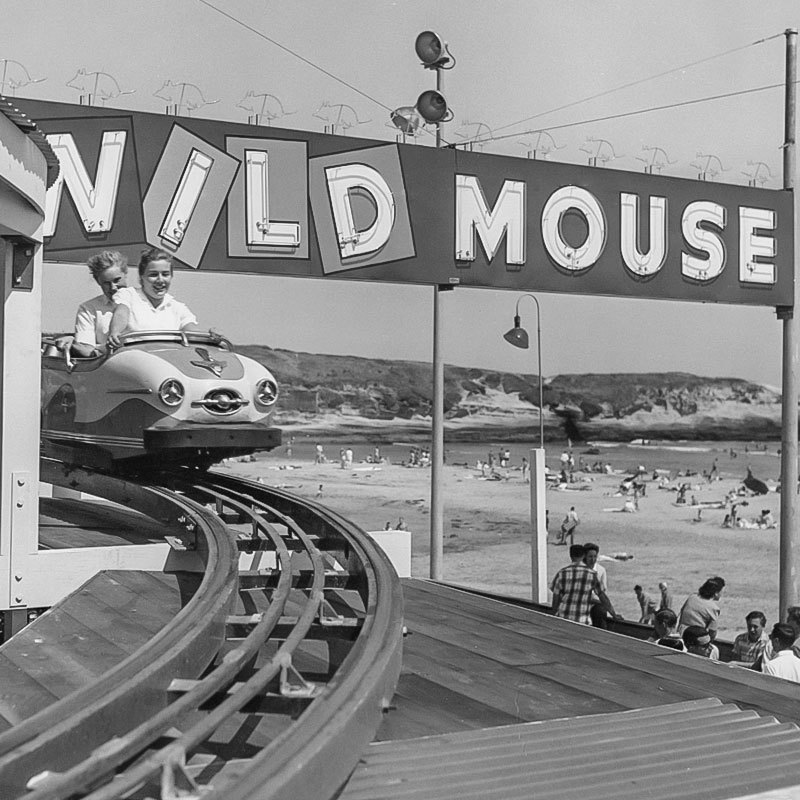 Wild Mouse Coaster at the Boardwalk